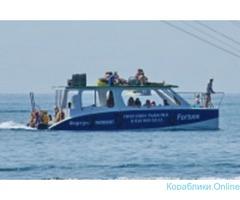 Морские прогулки и рыбалка в Лермонтово
