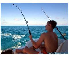 Морская рыбалка в Лермонтово