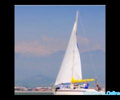 Парусная яхта, прогулка, море