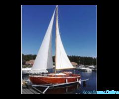Участие в яхтенной регате на Финском заливе
