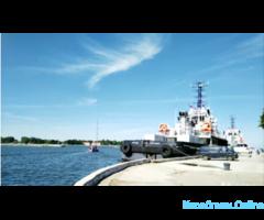 Прогулки на яхте, Балтийск