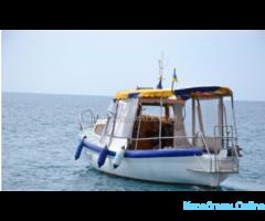 Морские прогулки а Балаклаве. Аренда катера