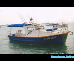 Морские прогулки, Рыбалка в открытом море
