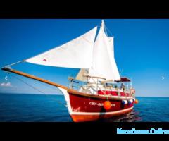 Аренда яхты или катера в Алуште. Морские прогулки