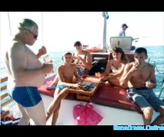 Морская рыбалка с приготовлением улова на углях - Изображение 7/8