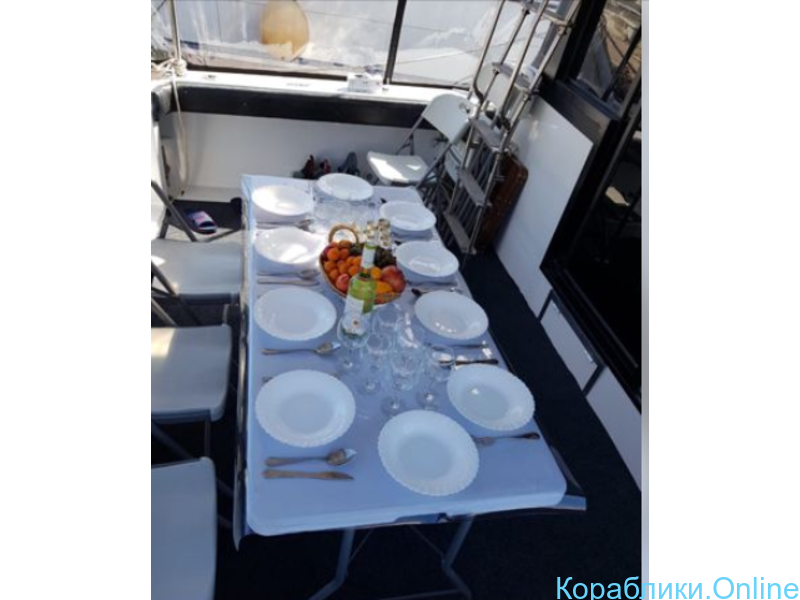 Аренда катера VIP-класса 38 фунтов, 12 человек - 4/8