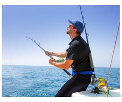 Утренняя рыбалка в открытом море