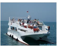 "Морская прогулка на катамаране ""Дельфин"""