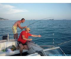 Морская рыбалка с катера в Кабардинке