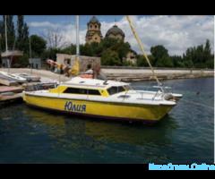 Морские прогулки на яхтах, рыбалка в Евпатории