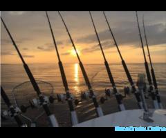 Кижи, Рыбалка, троллинг на Онежском озере