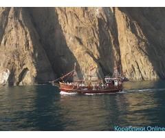 Морские экскурсии, рыбалка, дайвинг в Феодосии