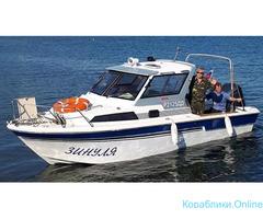 Морская рыбалка с катера
