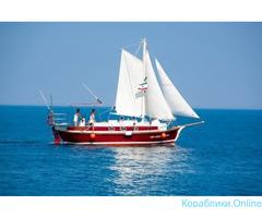 Аренда парусной яхты в Алуште