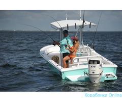 """""""Морской конёк"""" - рыбалка с моторной лодки"""