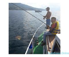Утренняя и вечерняя морская рыбалка с катера