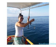 Морская прогулка и рыбалка