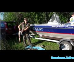 Рыбалка и прогулки на катере по Рыбинке и рекам