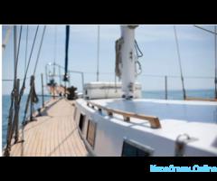 Прогулки, аренда яхты Tetis, рыбалка в Евпатории