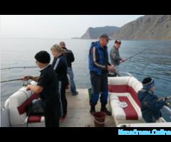 Рыбалка в открытом море. В любое время года