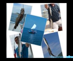 Морская рыбалка, уха в подарок
