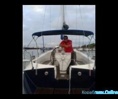 Прогулки на парусной яхте по реке Дон
