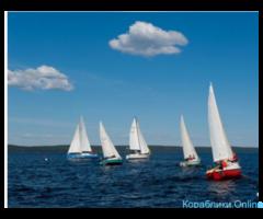 Корпоративные гонки на парусных яхтах в Омске