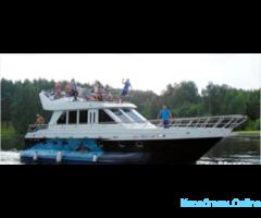 Аренда большой трёхпалубной моторной яхты