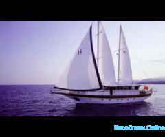 Отдых на яхте в Турции
