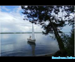 Прогулки на парусной яхте по Рыбинскому вдхр