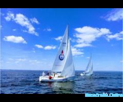 Прогулка на парусной яхте