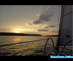 Прогулка на парусной яхте в Самаре