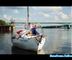 Прогулки под парусом на яхте